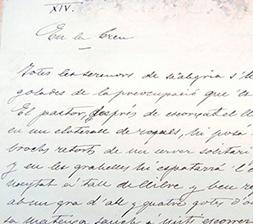 Manuscrit original de Solitud